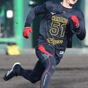 阪神ドラ6中野 1軍キャンプは通過点「開幕スタメン、新人王が目標」2・4紅白戦に照準