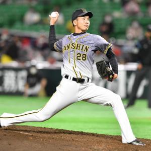 阪神小野「ゼロでよかった」故郷凱旋で1回無失点