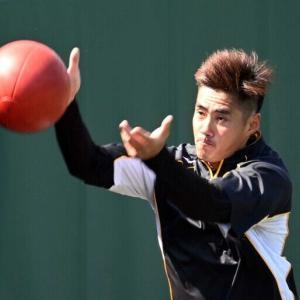 阪神・チェン 昨季鷹戦2敗も平常心「自分のリズムで」 7日ソフトバンク戦先発へ