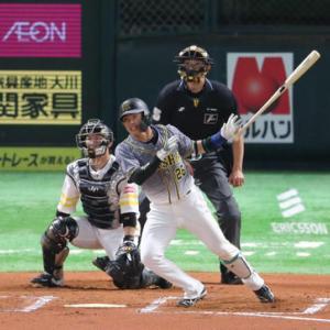 阪神北條が連日のアピール打「初球を仕留められた」