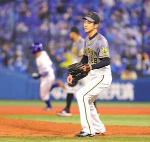 【阪神】今季ワースト12失点 連勝4でストップ 追いついた直後の7回に一挙5失点