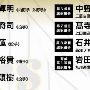 阪神 2020年ドラフトの結果wwww
