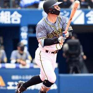 阪神糸原21試合連続出塁、5回には犠飛「チカが良い形でつないでくれた」