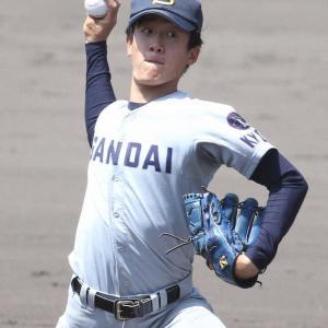 京産大・北山 8球団13人のスカウトの前で猛アピール!!8回までわずか1安打 阪神スカウトも成長評価