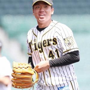 阪神ドラ5村上プロ入り後初の甲子園で自己最長6回無失点と好投 16年春のセンバツ優勝右腕