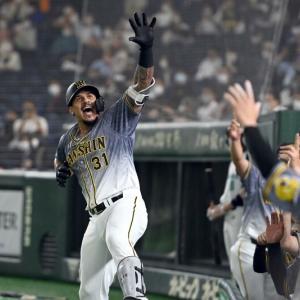 阪神マルテ(一).291 8本 23打点 出塁率.399 長打率.535 OPS.934 得点圏.414