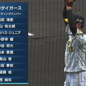 阪神2軍戦、2試合連発のロハスが「3番・左翼」でスタメン 4番小野寺暖 先発は西純矢
