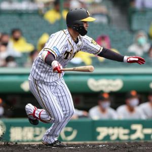 阪神中野拓夢が規定打席に到達 打率2割8分9厘、今季13度目のマルチも