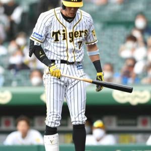 阪神連敗で3カードぶり負け越し 佐藤輝明の球団新人2位タイ18号ソロも及ばず