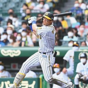阪神 佐藤輝明 父の日の豪快弾は岡田、二岡に並ぶ18号「すごい方に並べてうれしい」 球団新人最多も目前