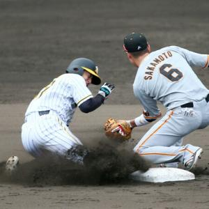 阪神矢野監督「彼なら当たり前」9回1死から盗塁成功の植田海に太鼓判