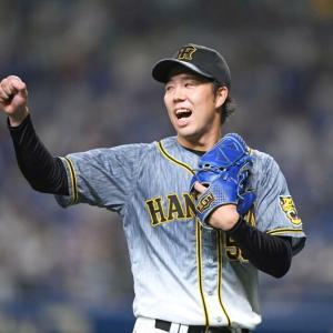 阪神、連敗ストップ貯金20 五輪代表・青柳7回1失点6勝目 佐藤輝が先制点口火