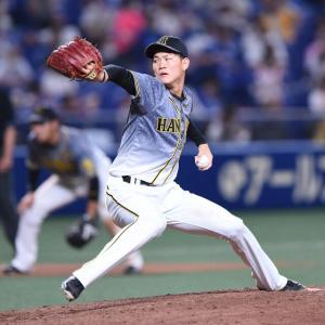 阪神高卒2年目及川雅貴が4戦連続無失点「冷静に投げきることができた」