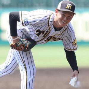 阪神・及川 矢野監督が期待の後半戦ローテ入りへ手応え 2軍戦で3回無安打投球