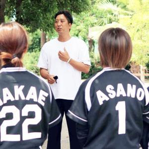 阪神 藤川球児SAがタイガースWomenを激励「みんなが憧れる存在に」紅白戦も視察