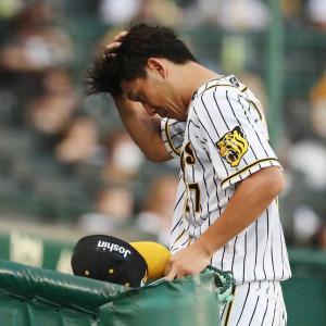 阪神・伊藤将司は2回に11人猛攻受け6失点…後半戦へ課題残すマウンドに