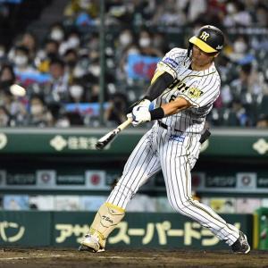 阪神・佐藤輝明が浜風切り裂く2ラン 打撃改造も「うまくいっていると思う」
