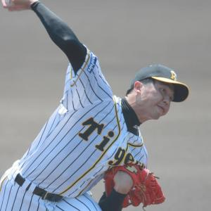 阪神育成才木浩人、術後3度目ブルペン「7割8割の感じで」立ち投げ20球