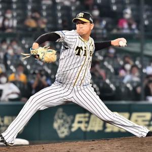 阪神岩貞が9回をピシャリ!危なげない姿に矢野監督も「いい球多かった」