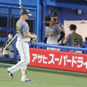 阪神 好機つくりながらも決定打欠き今季9度目の零敗 伊藤将の6回1失点好投も報われず