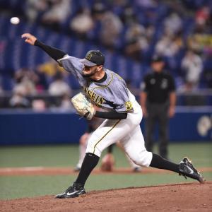 阪神スアレスがセ・リーグ最多33S「絶対に守り切る気持ちでマウンドに」