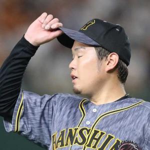【悲報】西勇輝(神)21登板 5勝9敗 防御率3.75