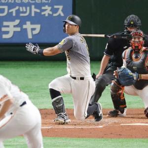 阪神・佐藤輝明 トンネルの出口が見えない46打席無安打 菅野から四球選んで21打席ぶり出塁も…