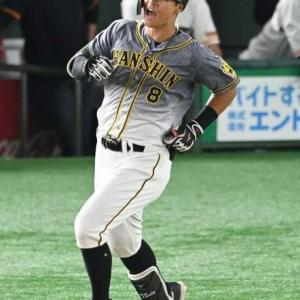 阪神・佐藤輝明は50打席連続無安打 ワースト更新で八回に交代 強烈な中直も安打出ず