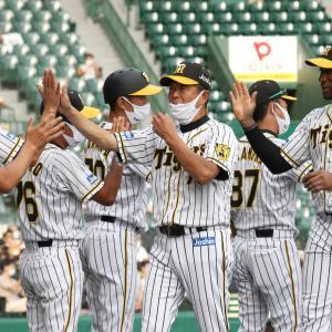 阪神平田2軍監督白星締め「選手たちほめてあげていいんじゃない」