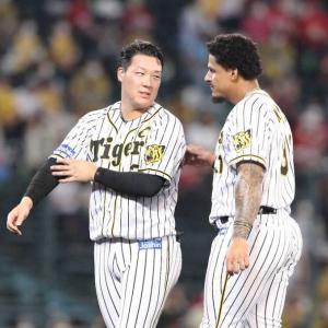 阪神 打線沈黙わずか2安打で今季10度目の零敗 虎党からはため息が漏れる