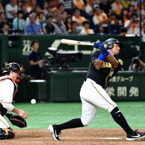 阪神 ソラーテが2軍降格 打率・188で守備も不安