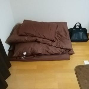 これを破ったら汚部屋に逆戻り②・起床したら布団をたたむ