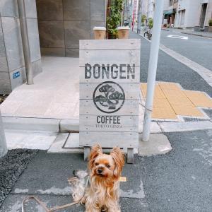 東銀座の路地裏…和モダンの雰囲気漂う『BONGEN(盆源)コーヒー』店内ペット同伴可のお店
