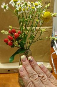 花とネイル
