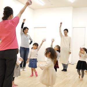 YouTube公開「パプリカ」0歳~3歳親子でタンバリン♪リトミック音楽レッスン吹田箕面茨木摂津