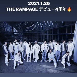 THE RAMPAGE デビュー記念日