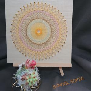 8月のスクールソフィアお花の教室