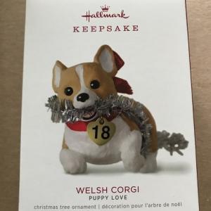 2018Hallmark クリスマスオーナメント Welsh Corgi