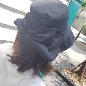 久しぶりにお帽子♡