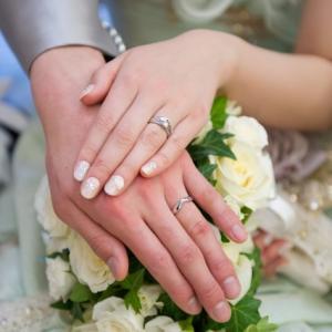 結婚指輪はテンションあがる!