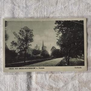 1941年に母から送られた軍人息子へのポストカード