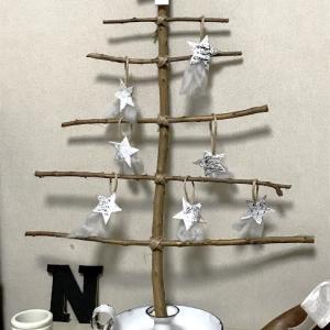 0円で出来た! ナチュラルテイストのクリスマスツリー