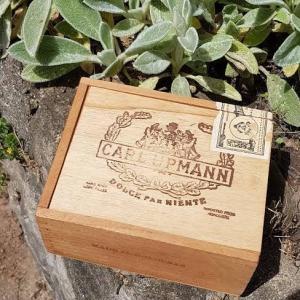 OLD WOOD BOX レアなヴィンテージのシガーケース