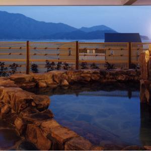 宮島からいちばん近い温泉施設、べにまんさくの湯