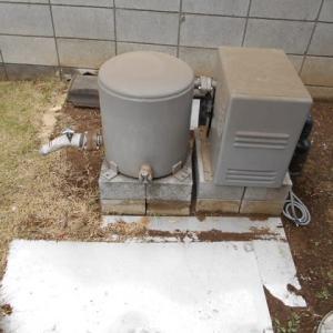 井戸ポンプの交換・・・千葉市