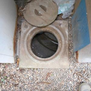 汚水桝の詰まり修理・・・佐倉市
