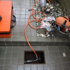 トレーサガスで漏水調査・・・千葉市