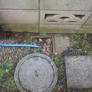 散水栓付近で漏水修理・・・千葉市