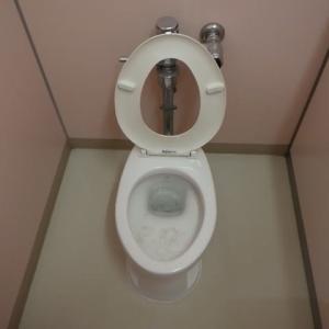 ローポンプを使ってトイレの詰まり修理・・・千葉市某保育所