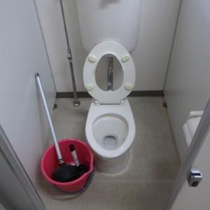 トイレの詰まり修理・・・千葉市某保育所